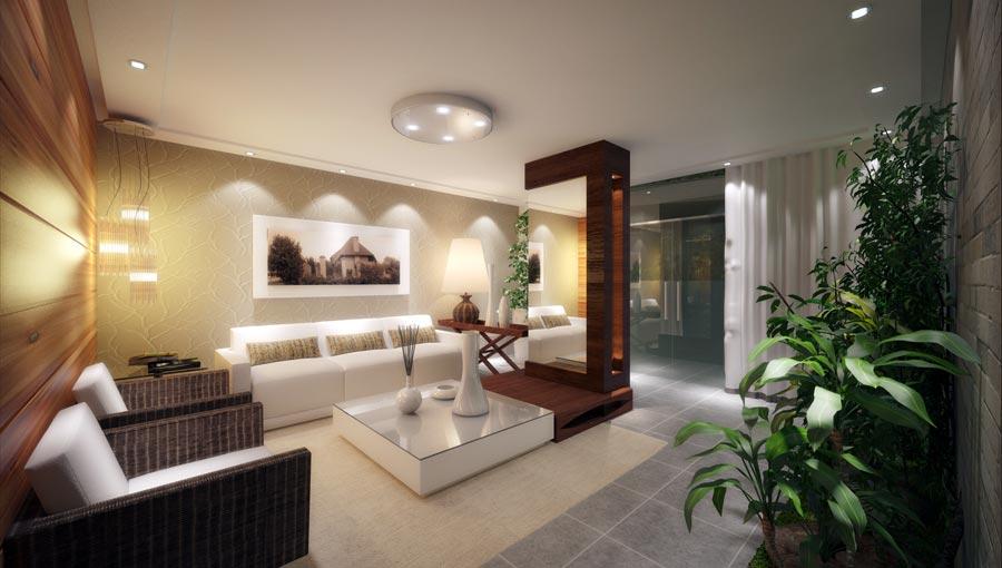 Fotos De Sala De Estar Apartamento ~ Conforto e diversão, com estrutura completa de engenharia, tecnologia